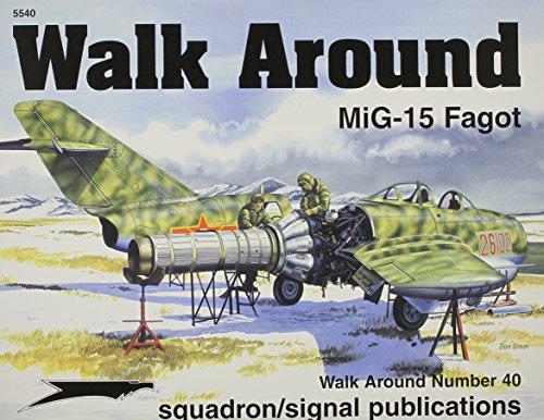 MiG-15 - Walk Around No. 40