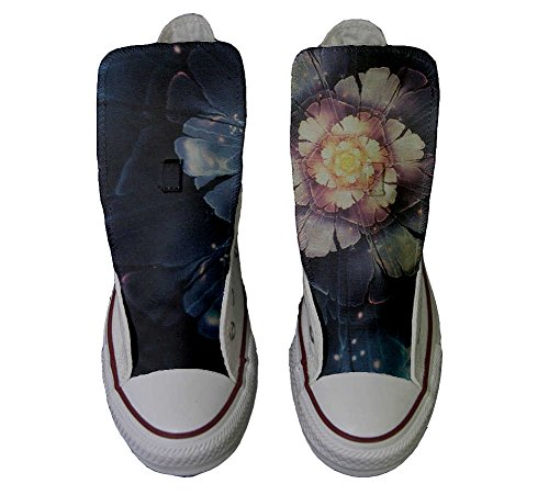Converse All Star personalisierte Schuhe - HANDMADE SHOES - Infinity flowers
