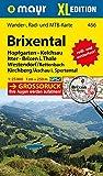 Brixental XL: Wander-, Rad- und Mountainbikekarte. GPS-genau. 1:25000 (Mayr Wanderkarten)