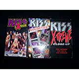 Kiss 3 VHS Video Tape Lot