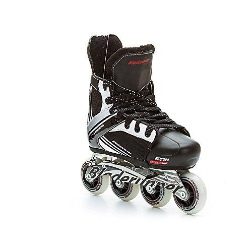 Bladerunner by Rollerblade Dynamo Jr Size Adjustable Hockey Inline Skate, Black and Red, Inline Skates by Bladerunner (Image #3)
