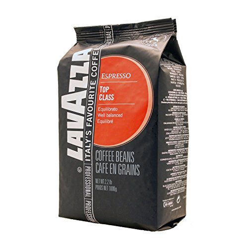 Lavazza Top Class Whole Bean Espresso - 2.2 lbs. (Pack of 2)