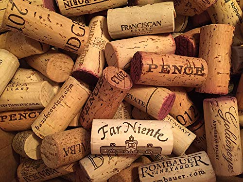 Premium Recycled Corks Natural Wine Corks From Around the US 100 Count