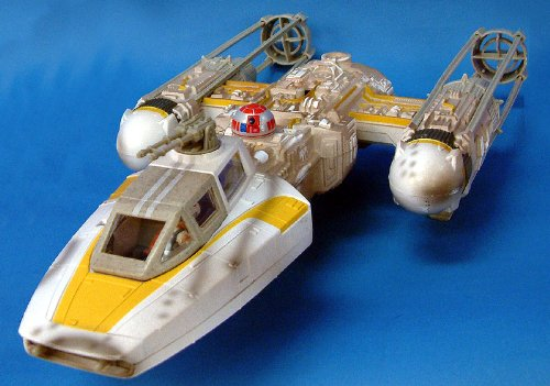 Hasbro Star Wars Power of the Force Y-Wing Fighter Target...