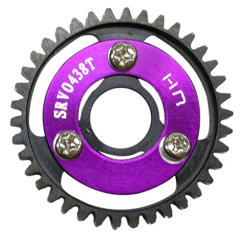 - Hot Racing SRVO438 Heavy Duty Steel Spur Gear