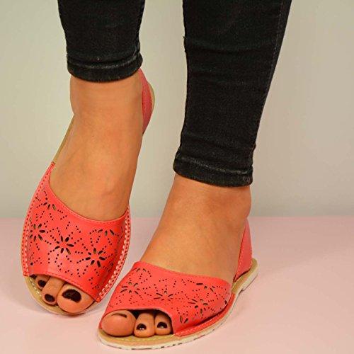 Cucu Fashion - Menorquina mujer Rosa - coral