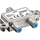 Wentronic 51445 LNB 2xSAT Silver cable interface/gender adapter - cable interface/gender adapters (LNB, 2xSAT, Silver)