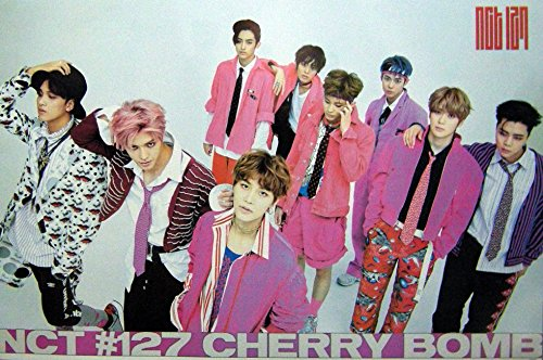 NCT #127 CHERRY BOMBKorean Teen Boy Group Music Photo Print Poster Size 24x36 S- 0792