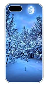 2014 New Year's Eve Custom Hard Case Cover for iPhone 5s and iPhone 5 - Polycarbonate - White