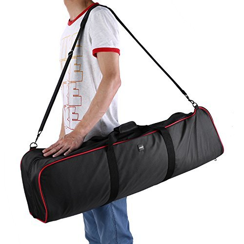 Neewer 35''x7''x8''/90x18x20cm Padded Carrying Bag with Strap for Manfrotto,Sirui,Vanguard,Ravelli and Dolica Series Stands and Other Universal Light Stands, Boom Stand and Tripod