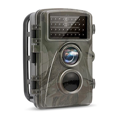 Hd Digital Camera Reviews (TEC.BEAN Trail Camera 12MP 1080P Full HD Hunting Game Camera 34PCS 850NM No-Glow Black Infrared LEDs With Night Vision Up To 65 Feet for Wildlife Monitoring)