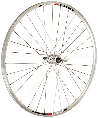 Sta-Tru Silver Alloy Freewheel Hub Rear Wheel (700X20)