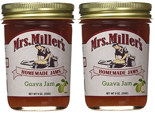 Mrs Millers Guava Jam (Amish Made)  2 / 9 Oz. Jars ()