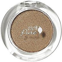 100% Pure Pressed Powder Eye Shadows, Bronze Gold, 0.07 Ounce