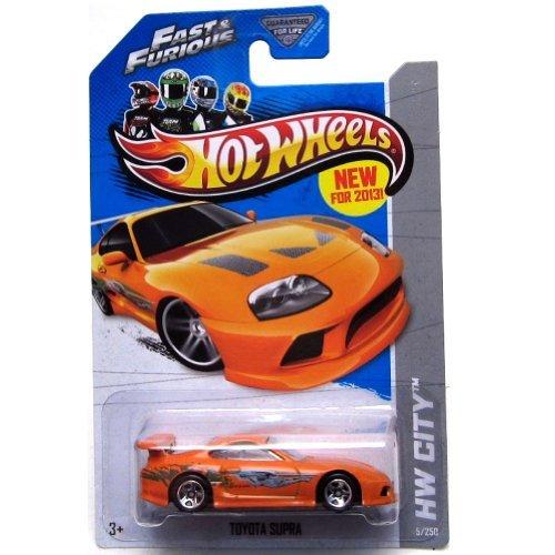 Hot Wheels 2013 Hw City - Toyota Supra - Fast & Furious (Toyota Supra Hot Wheels Fast And Furious)