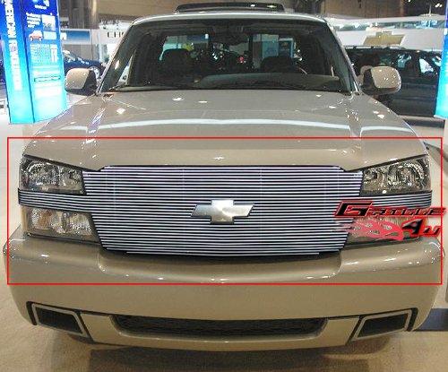 APS C85026A Polished Aluminum Billet Grille Replacement for select Chevrolet Avalanche 1500 Models - Chevrolet Avalanche Billet