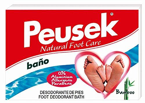 PEUSEK-baño de pies antitranspirante. Deodorant Foot Bath. Long Lasting.