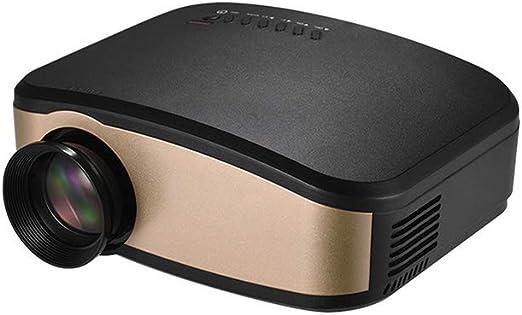 ZXGHS Proyector HD, Proyector De Vídeo LCD 1080P / 1200 Lúmenes ...