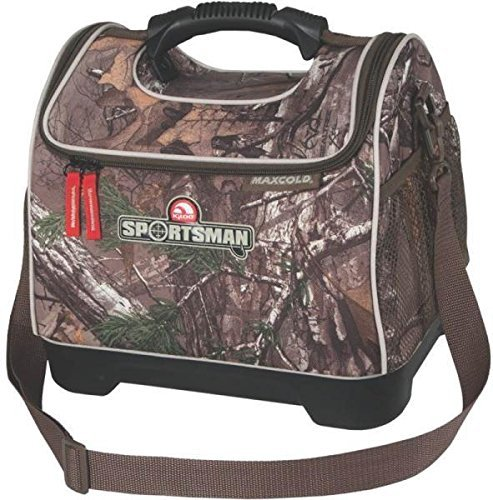 Igloo New (New Igloo 59796 Realtree 18 Can Sportsman Lunch Meal Cooler Bag Camo 3985207)