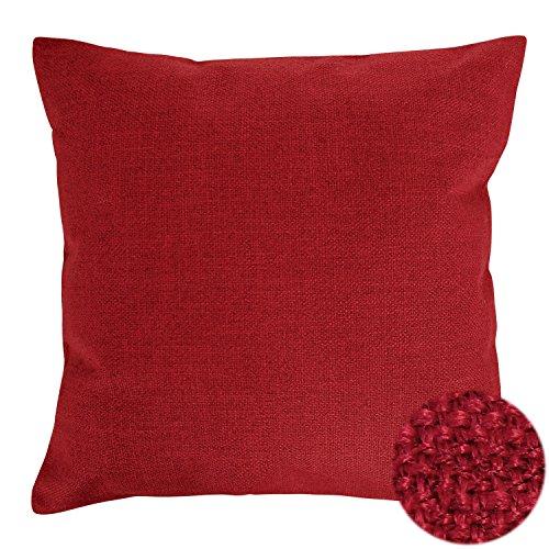 Deconovo Pillow Throw Cushion 18x18 inch