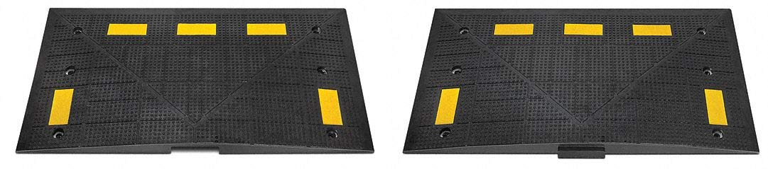 Speed Bump Endcap, For Use With Speed Bump