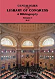 Genealogies in the Library of Congress, Marion J. Kaminkow, 0806316640