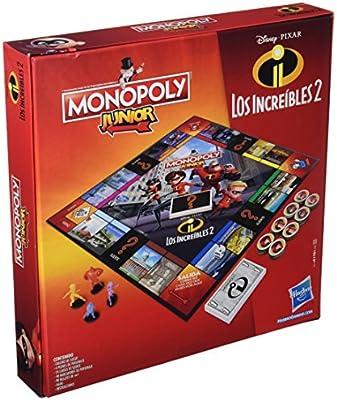 Monopoly- Junior Increibles (Hasbro E1781105): Amazon.es: Juguetes y juegos