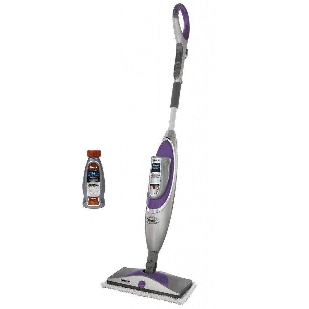 Shark SK460 Steam & Spray Professional Steam Steamer Mop w/ Wood Floor Cleanser