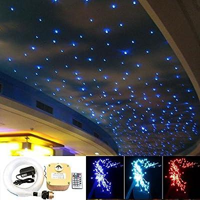 16w Twinkle RGB Led Fiber Optic Star Ceiling Light Kit