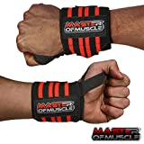 Wrist Wraps – Straps Your Wrists So You Can Smash Your Lifting Workout – Elastic Wrist Support For Weightlifting, BodyBuilding, Bench Press, Gym and More – For Women and Men – BONUS Powerlifting Guide Review