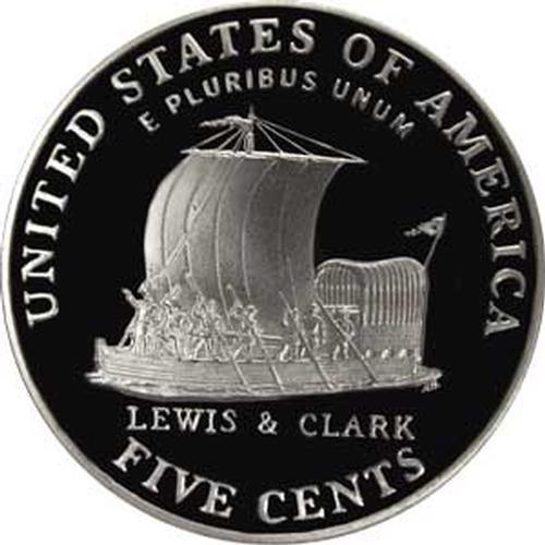 2004 S Gem Proof Keelboat Jefferson Nickel US Coin