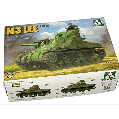 Takom 2085 US M3 Medium Tank Lee Early Version - 1:35 for sale  Delivered anywhere in USA