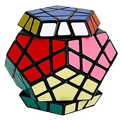 HALO NATION Premium Quality Megaminx Speed Cube 12-Axis 3-Layer Pentagon Magic Rubik Rubix Puzzle Cube Brain Teaser Puzzle Game Toy