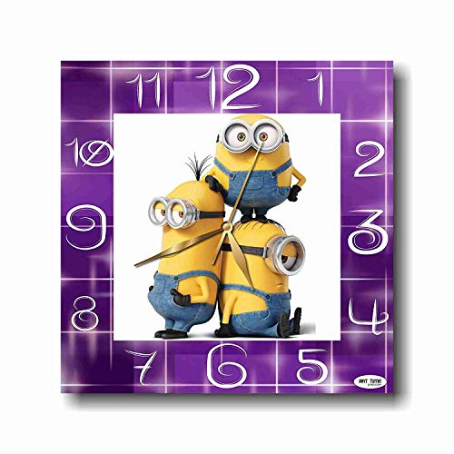 Art time production FBA Minions 11'' Handmade Wall Clock