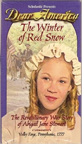 Dear America The Winter Of Red Snow The Revolutionary War Story Of