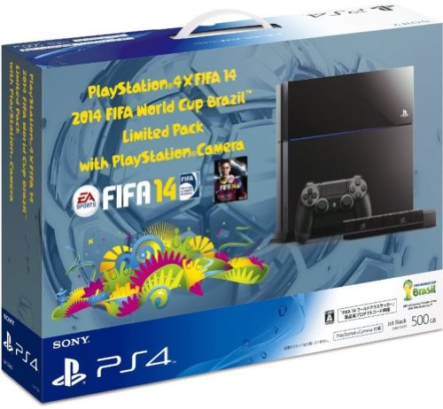 プレイステーション4本体×FIFA 14 2014 FIFA World Cup Brazil Limited Pack with PlayStation Camera