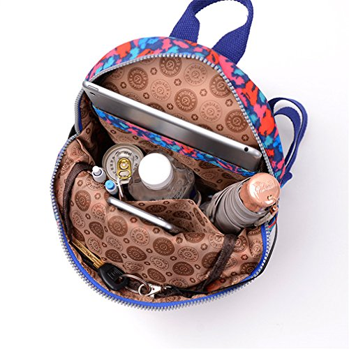 Backpack Blue Resistant Light Sling Tianhengyi Bag Black Small Water Girls Nylon Leopard Chest 1CnHHXgqw