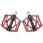 RockBros-Bici-Pedali-MTB-BMX-DH-916-inch-Ciclismo-Cuscinetto-Pedali-Flat-MTB