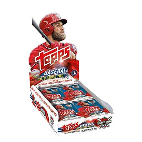 Etc Series - 2018 Topps Series 2 Baseball Hobby Box (36 Packs/10 Cards: 1 Autograph or relic)