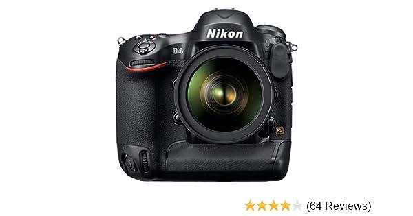 7738e35a2 Amazon.com : Nikon D4 16.2 MP CMOS FX Digital SLR with Full 1080p HD Video  (Body Only) (OLD MODEL) : Slr Digital Cameras : Camera & Photo