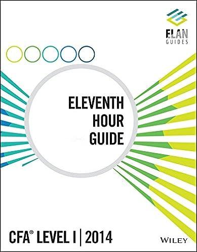 wiley elan guides level i cfa 2014 eleventh hour guide rh amazon com 11th Hour Gospel Group The Eleventh Hour Book