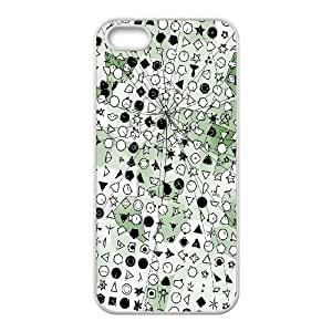 iPhone 4 4s Cell Phone Case White Symbolic Green Crystallization BNY_6846687