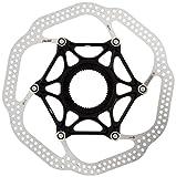 Avid HSX Heat Shedding Rotor CenterLock, Black, 180mm
