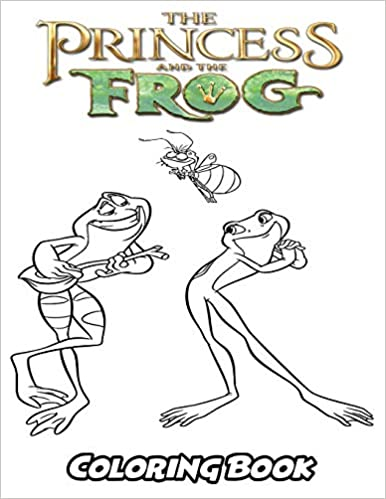 Amazon.com: Princess and the Frog Coloring Book: Coloring ...