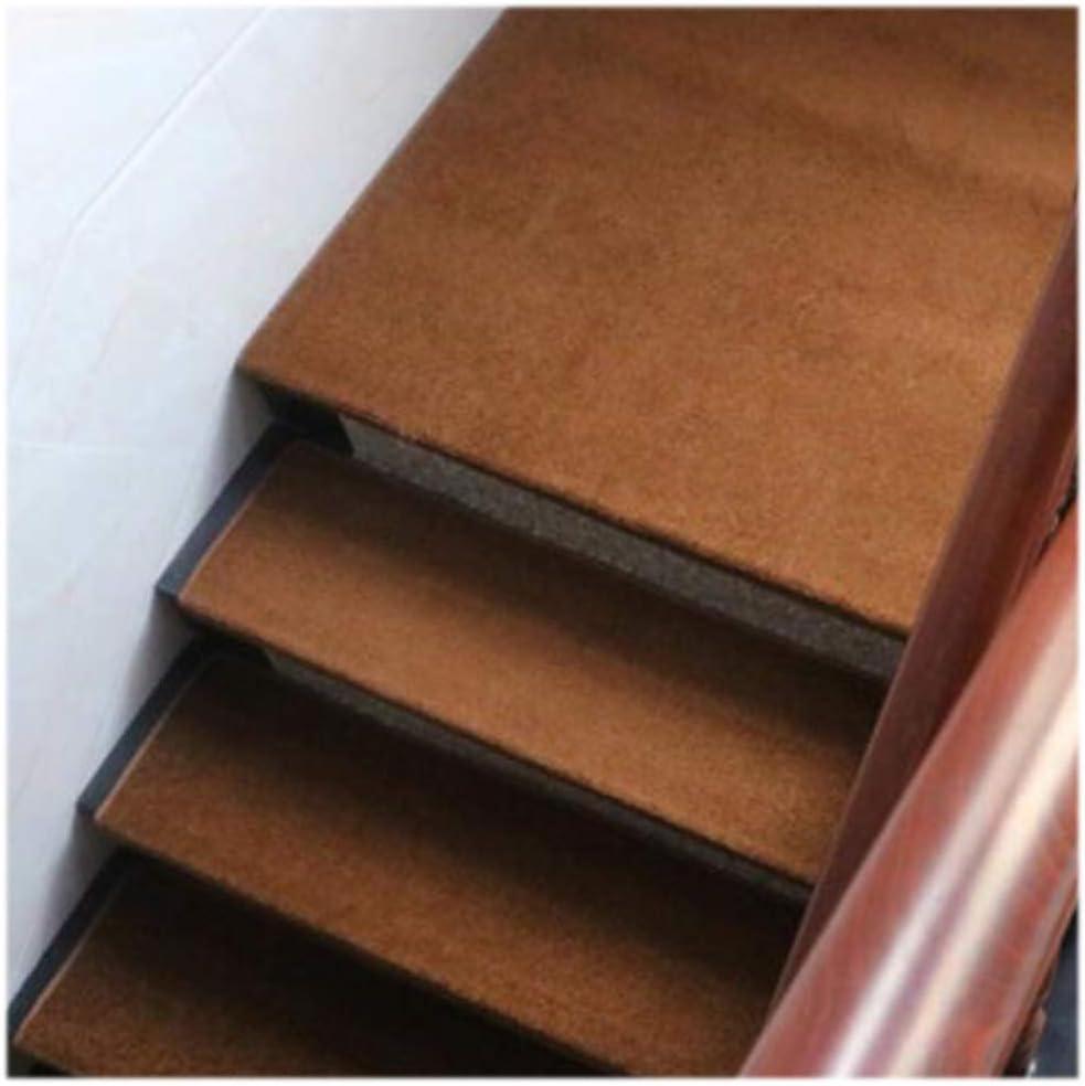 LTDT - Alfombra Rectangular para Escalera (65 x 24 cm, no Incluye Almohadillas para Plataforma), Color marrón: Amazon.es: Deportes y aire libre