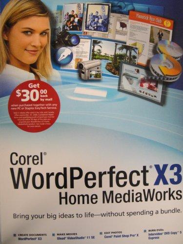 WordPerfect X3 Home MediaWorks