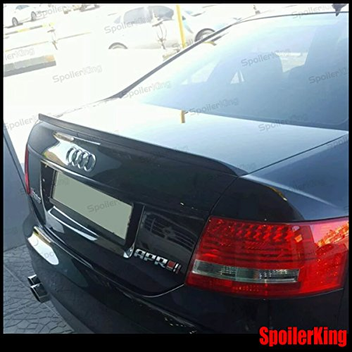 - Spoiler King Trunk Lip Spoiler (414L) Compatible with Audi A6 C6 Sedan 2004-2011