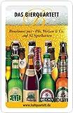 Das Bierquartett - 3475875-Kartenspiel Quartettkartenspiel mit 32 deutschen Biermarken