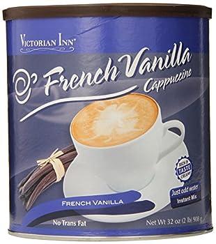 Victorian Inn Instant Cappuccino, French Vanilla, 32 Ounce