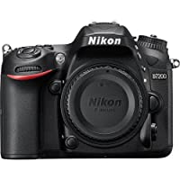 Nikon D7200 SLR Camera Body 24.2MP CMOS 6000 x 4000pixels Black - Digital Cameras (24.2 MP, 6000 x 4000 pixels, CMOS, Full HD, 675 g, Black)